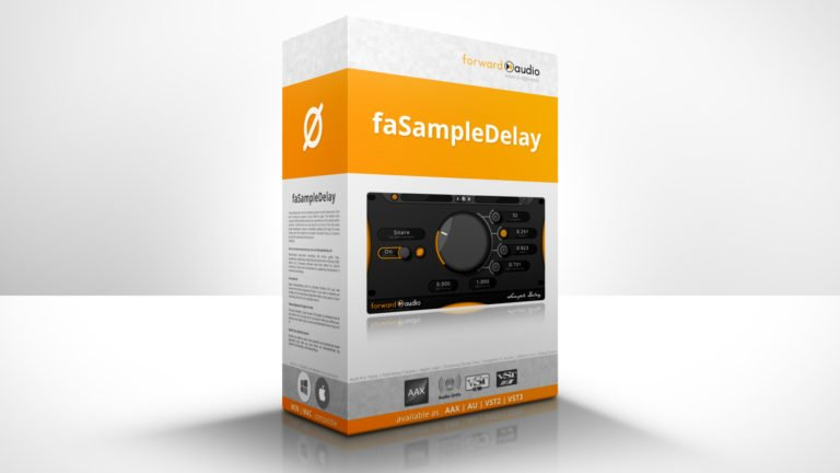 Product Showcase of the free phase alignment plugin faSampleDelay.