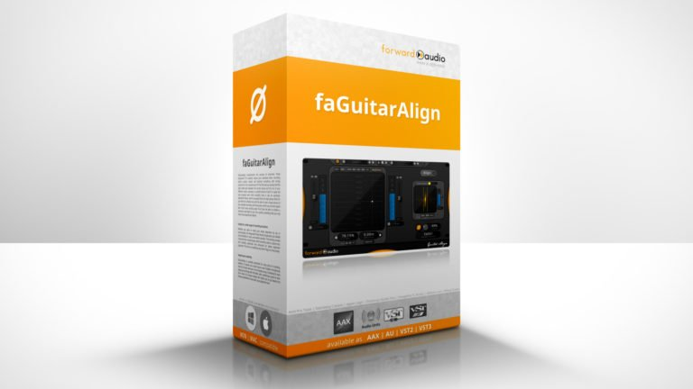 Product Showcase of the Automatic Phase Alignment Plugin faGuitarAlign
